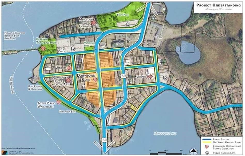 Minocqua selects Strand/Vandewalle team to lead a Downtown Streets Master Plan