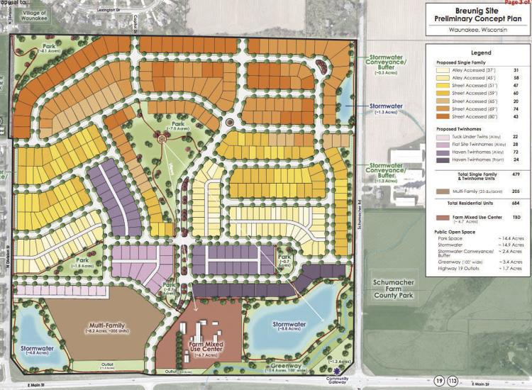 New housing envisioned just east of Waunakee