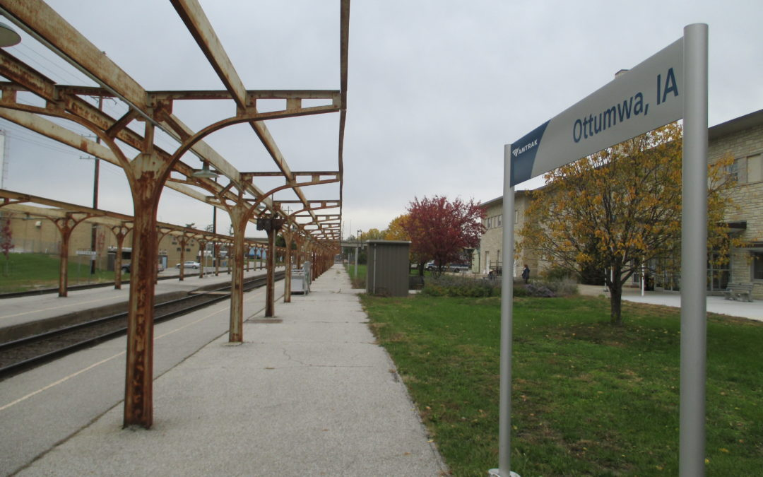 City planners want to build around Ottumwa's train station